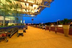 Singapore Changi Airport T3 Royalty Free Stock Images