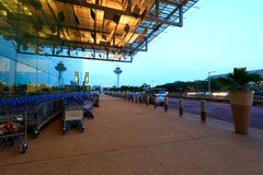 Singapore Changi Airport T3 Royalty Free Stock Photography