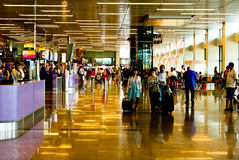 Singapore Changi Airport Royalty Free Stock Photos