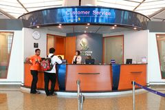 Singapore: Changi International Airport T2 Stock Image