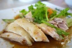 Singapore chicken rice Stock Photos