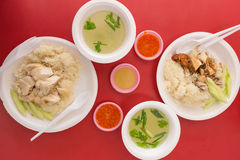 Singapore Chicken Rice Stock Images