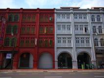 Singapore China Town Royalty Free Stock Photos