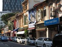 Singapore China Town Stock Photo