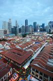 Singapore chinatown Royalty-vrije Stock Afbeelding