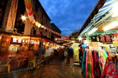 Singapore Chinatown Immagine Stock Libera da Diritti