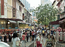 Singapore Chinatown Fotografia Stock Libera da Diritti
