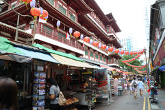 Singapore Chinatown foto de stock royalty free