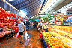 Singapore Chinatown Chinese Lunar New Year shoppin Stock Photos