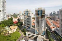 Singapore Chinatown Cityscape Stock Image
