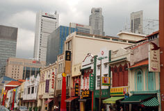 Singapore - Chinatown District Royalty Free Stock Images