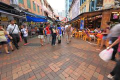 Singapore Chinatown Stock Images