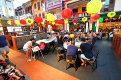 Singapore : Chinatown food street Stock Image