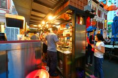 Singapore : Chinatown food street Royalty Free Stock Photography