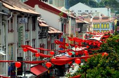 Singapore: Chinatown's Smith Street Royalty Free Stock Photography