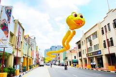 Singapore Chinatown street Stock Photos