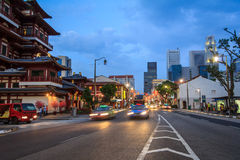 Singapore Chinatown Royalty Free Stock Images