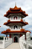 Singapore: Chinese Garden Pagoda Royalty Free Stock Photography