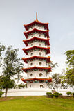 Singapore Chinese Gardens Pagoda Stock Images