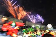 Singapore chingay parade Royalty Free Stock Image