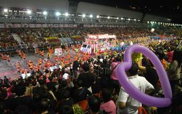 Singapore chingay parade Royalty Free Stock Images