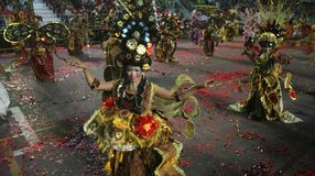 Singapore chingay parade Royalty Free Stock Photography