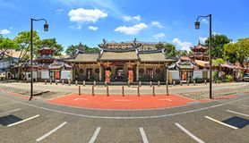 Thian Hock Keng Temple of Singapore. SINGAPORE, SINGAPORE - CIRCA SEPTEMBER, 2017: The Thian Hock Keng Temple of Singapore royalty free stock photography