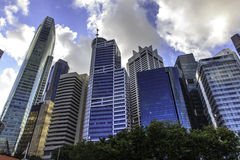Business center Singapore  Royalty Free Stock Images