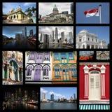 Singapore City Stock Image