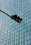 Singapore city building traffic lights Royalty Free Stock Images