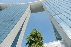 Singapore, city, buildings. Royalty Free Stock Images