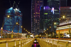 Singapore City Center Stock Images