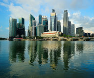 Singapore City Centre Stock Photo