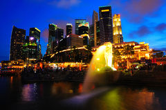 Singapore City Centre. Royalty Free Stock Photos