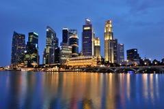 Singapore City Centre Skyline Royalty Free Stock Images