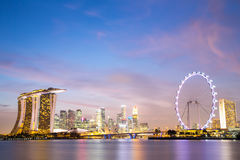 Singapore city downtown Stock Photography