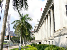 Singapore City Hall. And the City Royalty Free Stock Photography