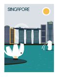 Singapore city. Stock Images