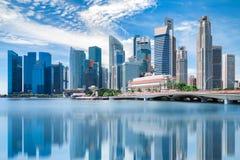 Singapore city royalty free stock photos