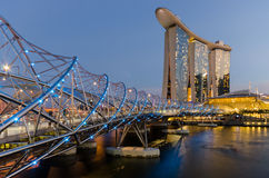Singapore city Stock Images
