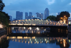 Singapore city in the Morning Royalty Free Stock Photography