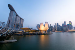 Singapore city - panorama Royalty Free Stock Photo