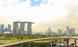 Landmarks of Singapore Royalty Free Stock Photography