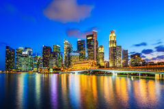 Singapore City, Singapore. Stock Images