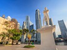 Sir Stamford Raffles statue - Singapore Stock Image