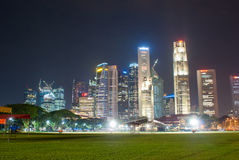 Singapore city sky line. Royalty Free Stock Photos