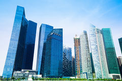 Singapore city skyline. Stock Image
