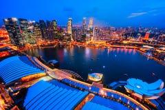 Singapore city skyline. Royalty Free Stock Photos