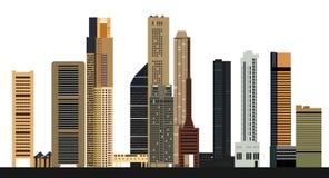 Singapore city skyline Royalty Free Stock Image