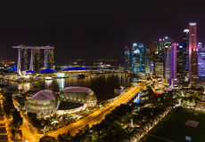 Singapore city skyline. Architecture and travel background Royalty Free Stock Image
